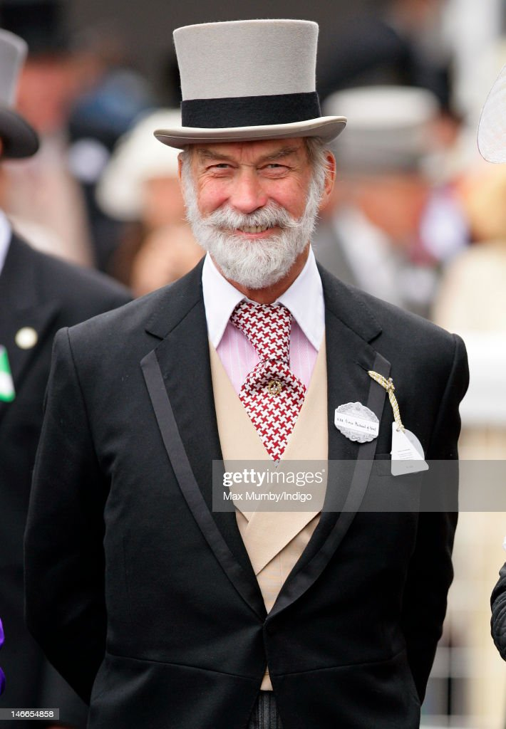 Prince Michael of Kent attends Ladies Day during Royal Ascot at Ascot Racecourse on June 21, 2012 in Ascot, England.