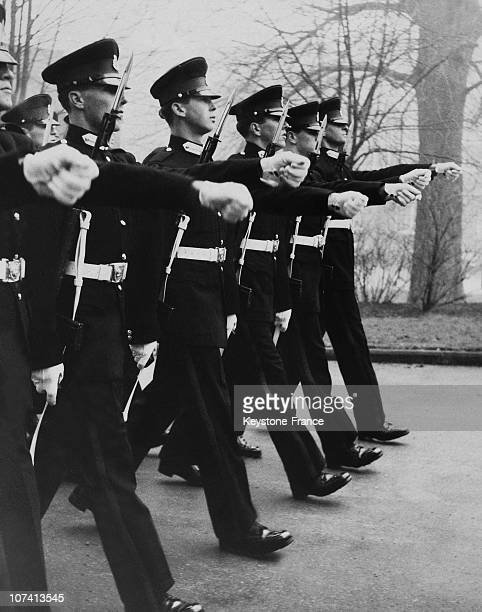 Prince Michael Of Kent Marching In The Sovereigns Parade At Sandhurst In United Kingdom On December 21St 1961