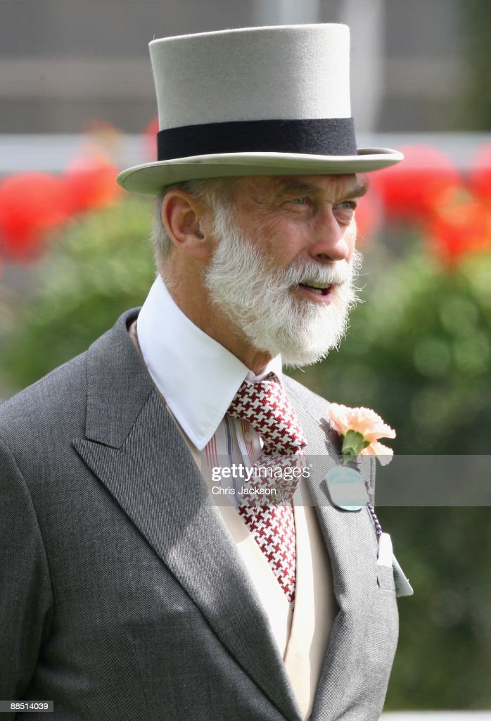 Prince Michael of Kent walks around the parade ring on the first day of Royal Ascot 2009 at Ascot Racecourse on June 16, 2009 in Ascot, England.
