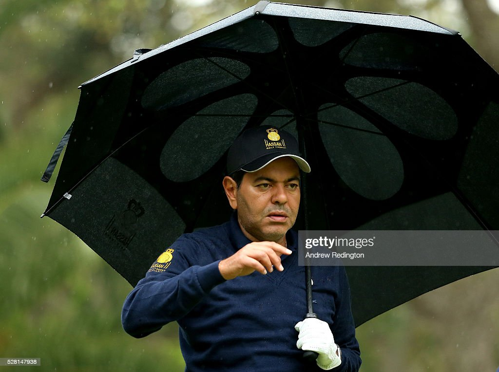 Prince Moulay Rachid in action during the Pro Am prior to the start of the Trophee Hassan II at Royal Golf Dar Es Salam on May 4, 2016 in Rabat, Morocco.