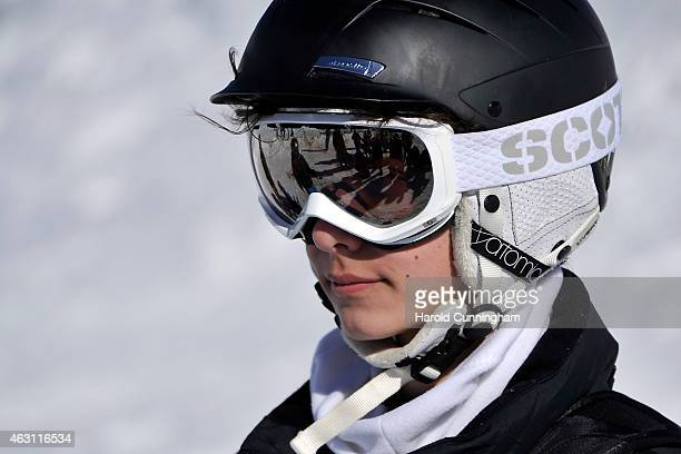 Prince Nikolai of Denmark attends the Danish Royal family annual skiing photocall whilst on holiday on February 10 2015 in ColdeBretaye near...