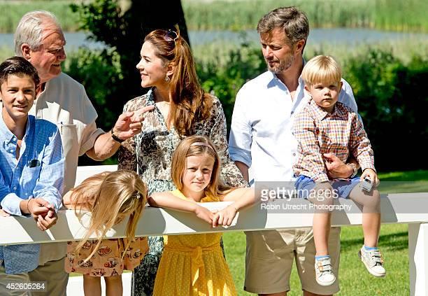 Prince Nikolai Prince Henrik of Denmark Crown Princess Mary of DenmarkPrincess Josephine of Denmark Princess Isabella of Denmark Crown Prince...