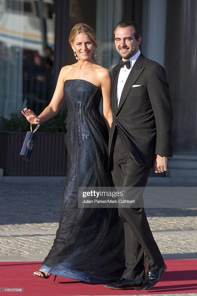 King Carl XVI Gustaf & Queen Silvia Of Sweden Host A Private Dinner Ahead Of The Wedding Of Princess Madeleine & Christopher O'Neill - Arrivals