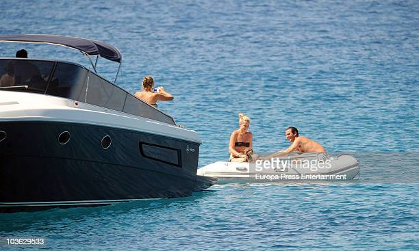 Prince Nikolaos and Tatiana Blatnik Sighting In Spetses