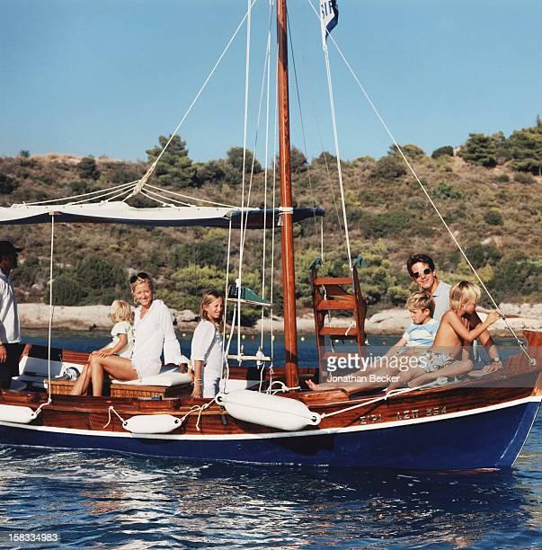 Prince OdysseasKimon Princess MarieChantal Princess MariaOlympia Prince AchileasAndreas Prince Pavlos of Greece and Prince Constantine Alexios are...