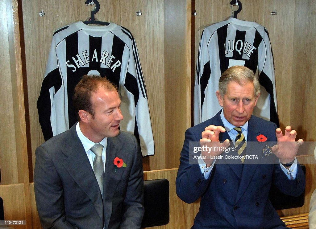 HRH Prince of Wales and HRH Camilla Duchess of Cornwall Visit Newcastle United