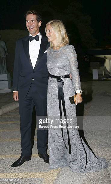 Prince Pavlos of Greece and Princess MarieChantal of Greece attend private dinner to celebrate the Golden Wedding Anniversary of King Constantine II...