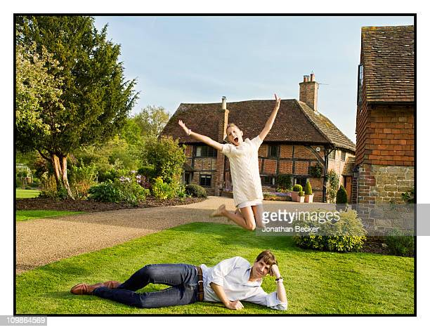 Prince Pavlos of Greece and Princess MarieOlympia are photographed at their home 'Beale House' for Vanity Fair Spain on May 23 2009 in West Sussex...