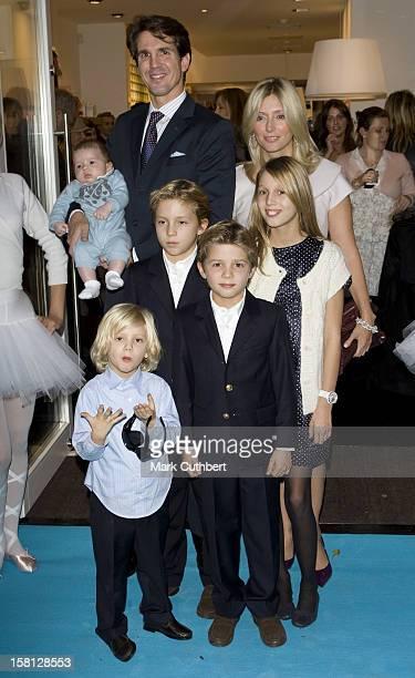 Prince Pavlos Of Greece Princess Marie Chantal Of Greece Prince OdusseasKimon Of Greece Princess MariaOlympia Of Greece Prince Constantine Alexios Of...