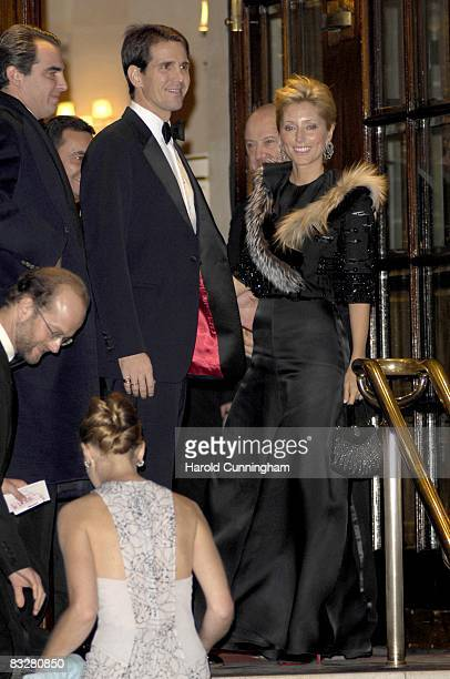 Prince Pavlos Princess Marie Chantal of Greece Lord Nicholas Windsor and Paola Doimi De Frankopan