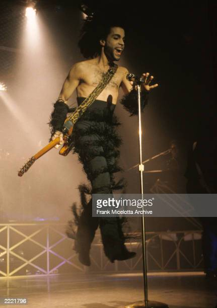 Prince performing in Minneapolis on April 301990