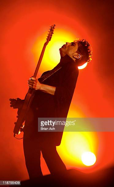 Prince performs during his 'Welcome 2 Europe' tour at Stade de France on June 30 2011 in Paris France