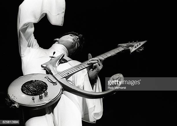 Prince performs on stage at Brabant hallen Den Bosch Netherllands 24th March 1995