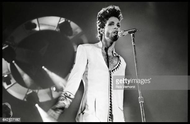 Prince performs on stage on his Diamonds Pearls tour Ahoy Rotterdam Netherlands 27th May 1992