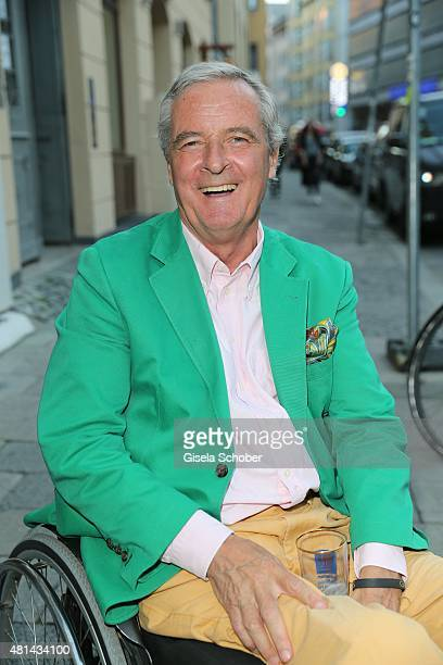 Prince Peter zu Hohenlohe during the opening of the Grey's Bar at H'Otello on July 20 2015 in Munich Germany