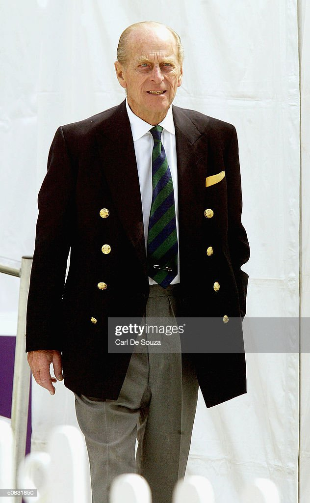 Prince Philip Attends The First Day Of Royal Windsor Horse Show At Home Park On