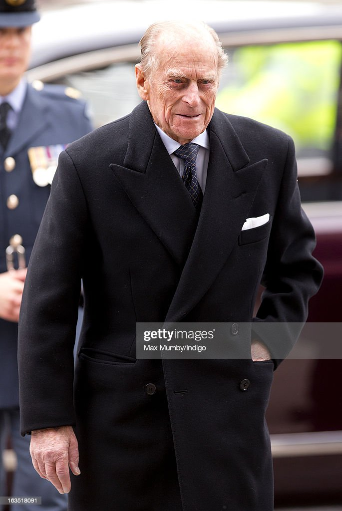 <a gi-track='captionPersonalityLinkClicked' href=/galleries/search?phrase=Prince+Philip&family=editorial&specificpeople=92394 ng-click='$event.stopPropagation()'>Prince Philip</a>, Duke of Edinburgh arrives at Westminster Abbey to attend The Commonwealth Day Observance on March 11, 2013 in London, England. Queen Elizabeth II, who is the head of the Commonwealth, was due to attend the event, but cancelled as she continues her recovery after a brief illness. Commonwealth Day Observance takes place annually on the second Monday in March, and this year's theme is 'Opportunity Through Enterprise'.