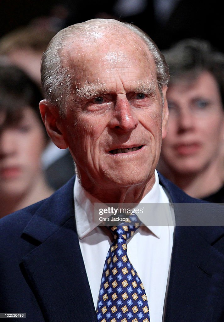 <a gi-track='captionPersonalityLinkClicked' href=/galleries/search?phrase=Prince+Philip&family=editorial&specificpeople=92394 ng-click='$event.stopPropagation()'>Prince Philip</a>, Duke of Edinburgh attends a reception for 'A Celebration of Novia Scotia' at the Cunard Centre on June 29, 2010 in Halifax, Canada. The Queen and Duke of Edinburgh are on an eight day tour of Canada starting in Halifax and finishing in Toronto. The trip is to celebrate the centenary of the Canadian Navy and to mark Canada Day. On July 6th, the royal couple will make their way to New York where the Queen will address the UN and visit Ground Zero.