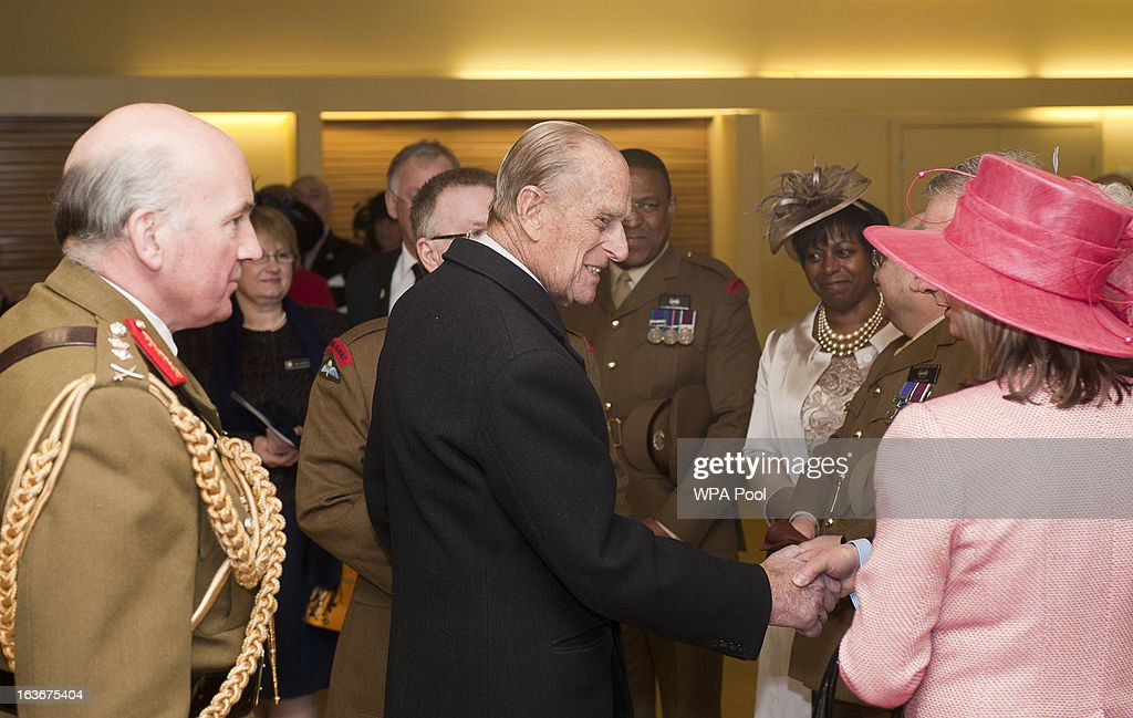 <a gi-track='captionPersonalityLinkClicked' href=/galleries/search?phrase=Prince+Philip&family=editorial&specificpeople=92394 ng-click='$event.stopPropagation()'>Prince Philip</a>, Duke of Edinburgh, attends a service for the 175th anniversary of the Soldier's and Airmen's Scripture Association, at the Guards Chapel on March 14, 2013 in London, England.