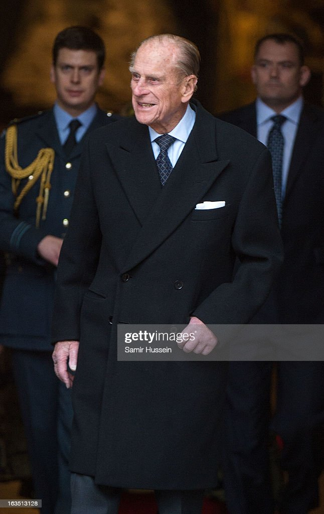<a gi-track='captionPersonalityLinkClicked' href=/galleries/search?phrase=Prince+Philip&family=editorial&specificpeople=92394 ng-click='$event.stopPropagation()'>Prince Philip</a>, Duke of Edinburgh attends the Commonwealth Day Observance At Westminster Abbey on March 11, 2013 in London, England.