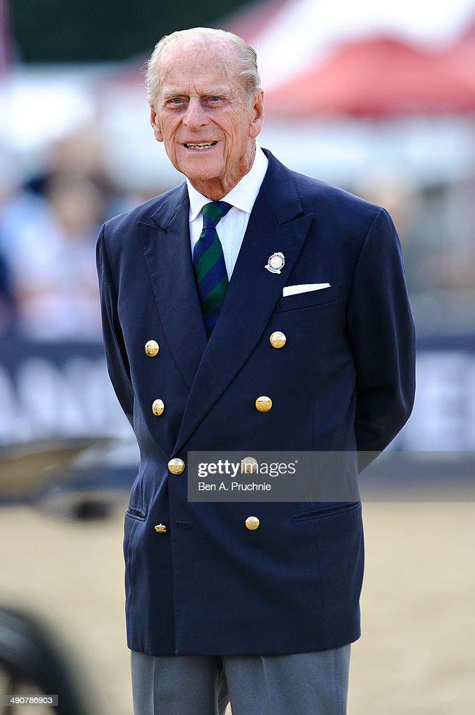 Prince Philip Duke Of Edinburgh Attends The Driving For Disabled Event During Royal