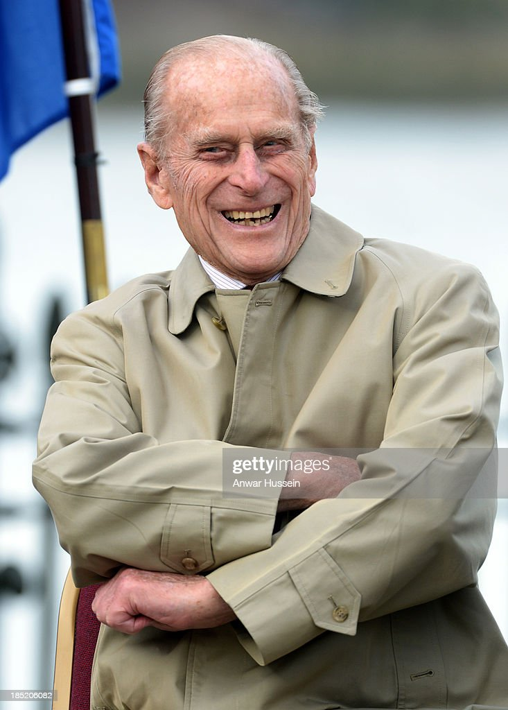 <a gi-track='captionPersonalityLinkClicked' href=/galleries/search?phrase=Prince+Philip&family=editorial&specificpeople=92394 ng-click='$event.stopPropagation()'>Prince Philip</a>, Duke of Edinburgh attends the renaming ceremony for the clipper ship 'The City of Adelaide' on October 18, 2013 in London, England.