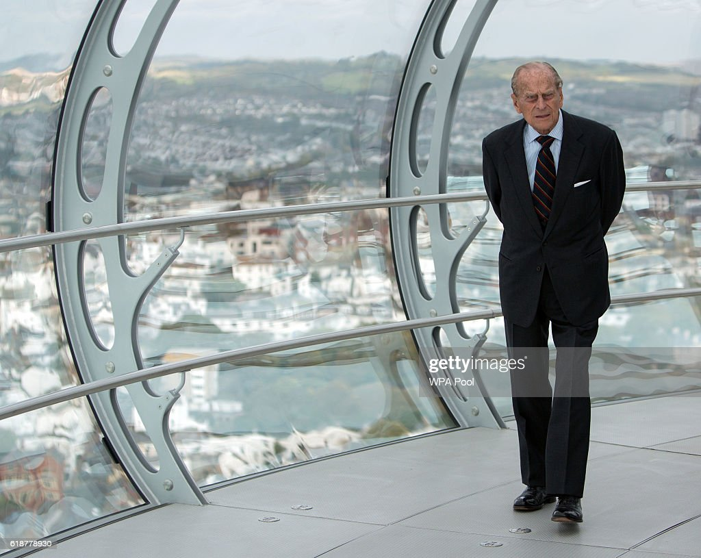 prince-philip-duke-of-edinburgh-looks-out-onto-the-seafront-during-picture-id618778930