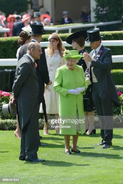Prince Philip Duke of Edinburgh Prince William Duke of Cambridge Catherine Duchess of Cambridge Princess Beatrice of York Princess Eugenie of York...