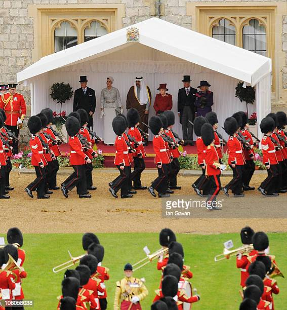 Prince Philip Duke of Edinburgh Sheikha Mozah bint Nasser AlMissned the Emir of the State of Qatar Sheikh Hamad bin Khalifa AlThani Queen Elizabeth...