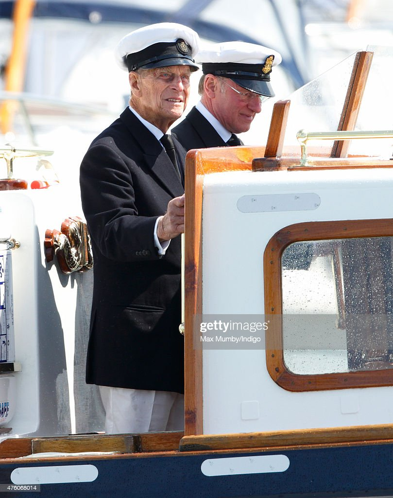 The Duke Of Edinburgh Attends Bicentenary Celebrations Of The Royal Yacht Squadron Getty Images