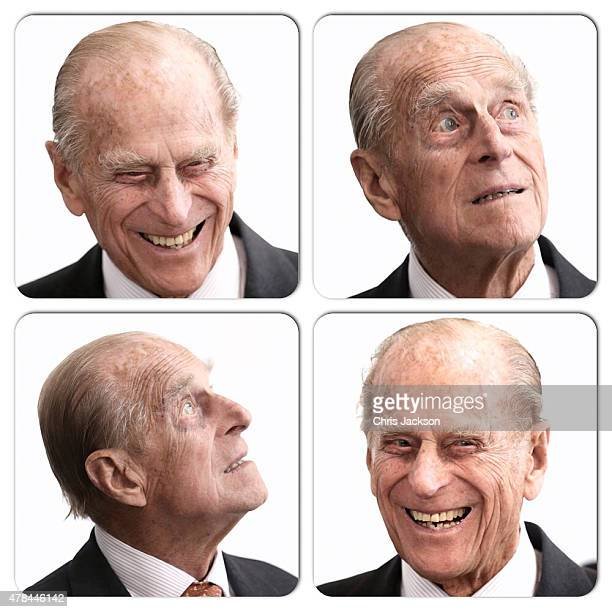 Prince Philip Duke of Edinburgh visits St Paul's Church on day three of a four day State Visit on June 25 2015 in Frankfurt am Main Germany