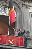 Prince Philippe and Princess Mathilde at the town hall in Lier
