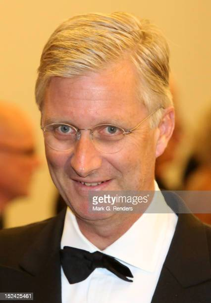Prince Philippe of Belgium attends a Gala for the King Baudouin Foundation at Kortrijk Expo Hallen on September 20 2012 in Kortrijk Belgium