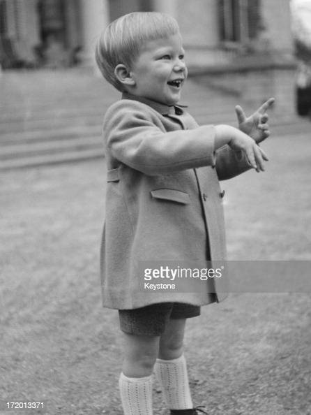 Prince Philippe of Belgium celebrates his third birthday 15th April 1963