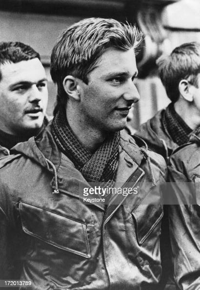 Prince Philippe of Belgium on parade at the Belgium Military School before leaving for basic training near the Dutch border 12th September 1978