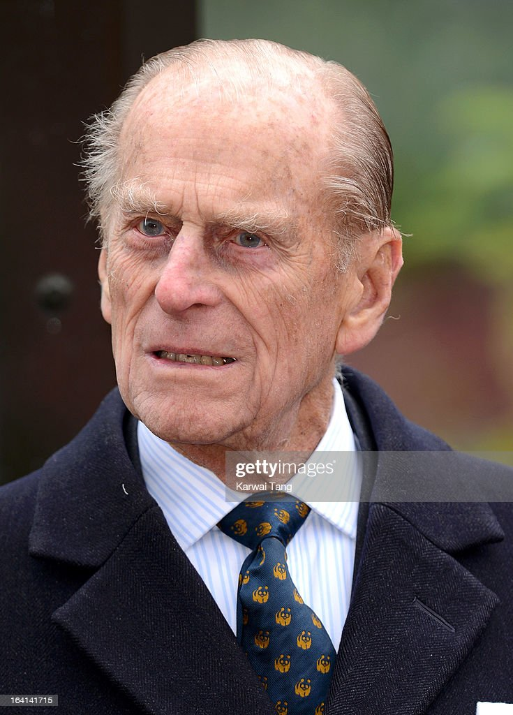 Prince Phillip, Duke of Edinburgh attends the opening of London Zoo's new Tiger Territory at ZSL London Zoo on March 20, 2013 in London, England.