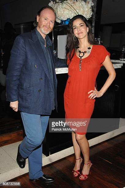 Prince Pierre d'Arenberg and Dayssi Olarte de Kanavos attend MANDARIN ORIENTAL HOTEL GROUP Party for the SOTHEBY'S Contemporary Asian Art Exhibition...