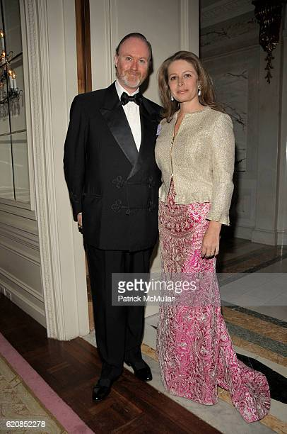 H Prince Pierre d'Arenberg and HSH Princess Pierre d'Arenberg attend Venetian Heritage Event Honoring Larry Lovett at St Regis Hotel on March 31 2008...