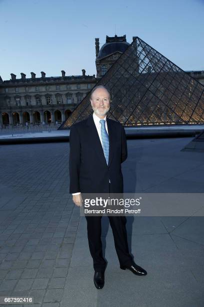 Prince Pierre D'Arenberg attends the 'LVxKOONS' exhibition at Musee du Louvre on April 11 2017 in Paris France