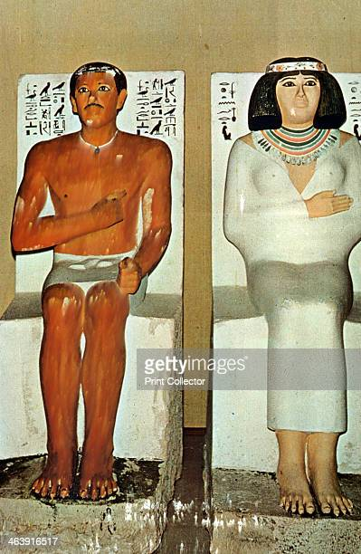 An examination of the funerary statues of prince rahotep and his wife nofret