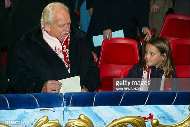 Prince Rainier and Princess Pauline in Monaco on January 17 2003