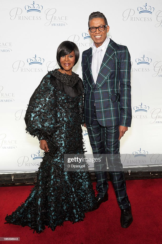 Prince Rainier III Award Recipient Cicely Tyson (L) and designer B Michael attend the 2013 Princess Grace Awards Gala at Cipriani 42nd Street on October 30, 2013 in New York City.