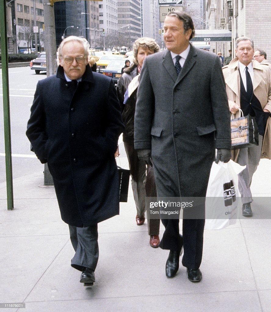 Prince Rainier of Monaco during Prince Rainier of Monaco Sighting in New York City March 15 1983 at The Regency Hotel in New York City United States