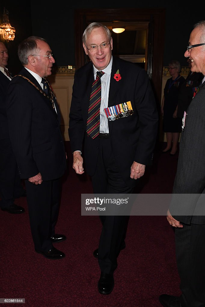 Prince Richard, Duke of Gloucester attends the annual Royal Festival of Remembrance at the Royal Albert Hall on November 12, 2016 in London, England.