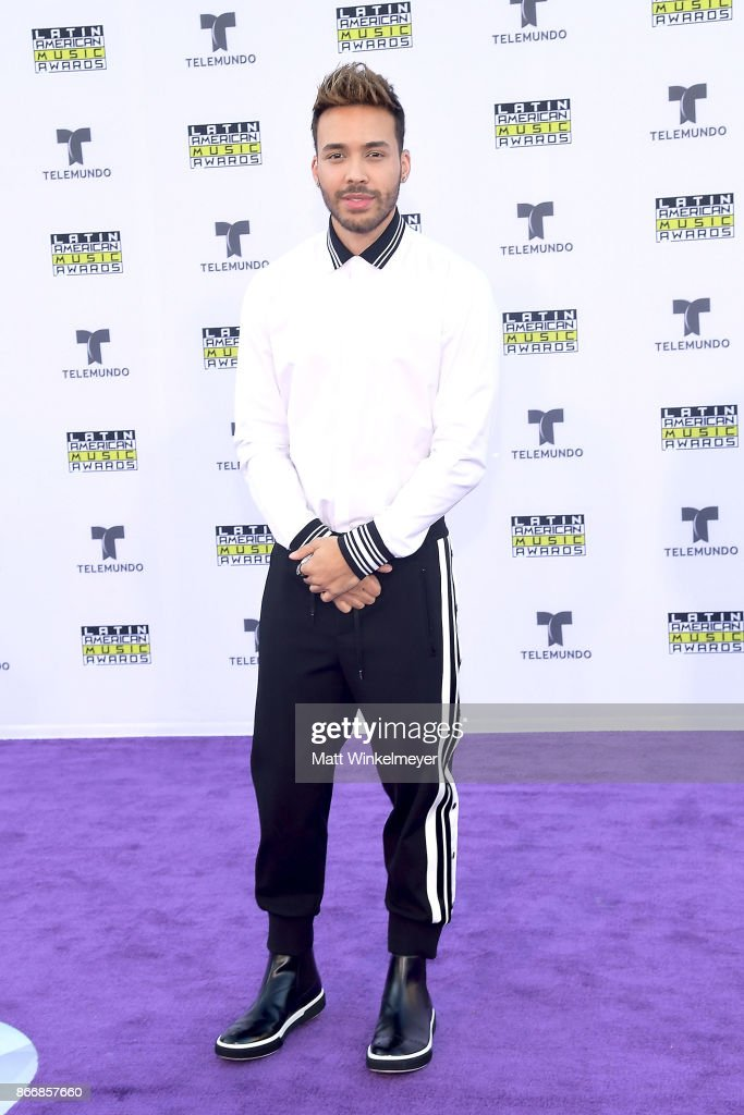 Prince Royce attends 2017 Latin American Music Awards at Dolby Theatre on October 26, 2017 in Hollywood, California.