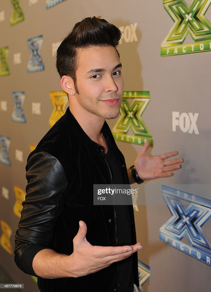 Prince Royce attends FOX's 'The X Factor' Season 3 Top 3 Live Finale Performance Show on December 18, 2013 in Hollywood, California.