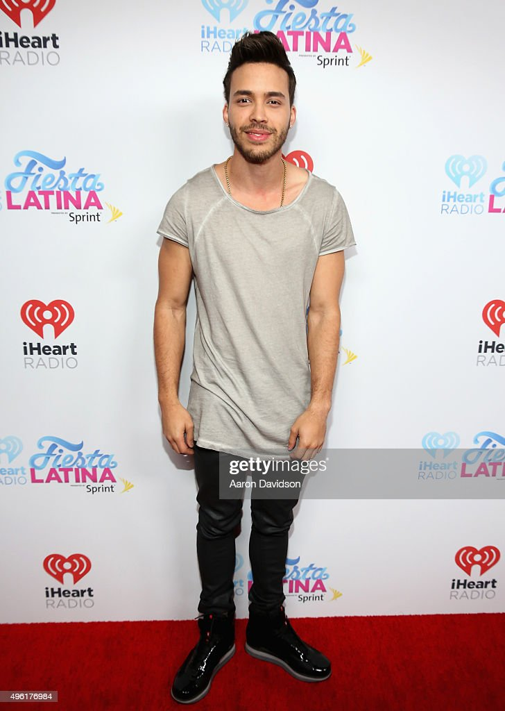 <a gi-track='captionPersonalityLinkClicked' href=/galleries/search?phrase=Prince+Royce&family=editorial&specificpeople=6918529 ng-click='$event.stopPropagation()'>Prince Royce</a> attends iHeartRadio Fiesta Latina presented by Sprint at American Airlines Arena on November 7, 2015 in Miami, Florida.