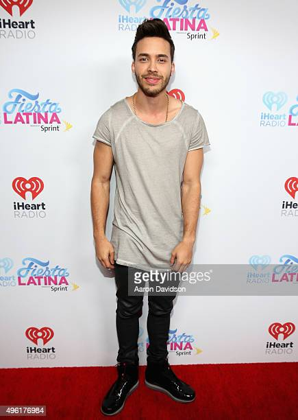 Prince Royce attends iHeartRadio Fiesta Latina presented by Sprint at American Airlines Arena on November 7 2015 in Miami Florida