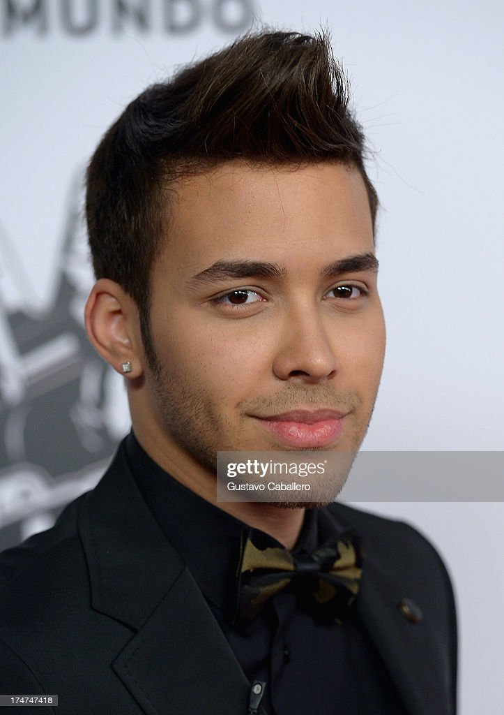 <a gi-track='captionPersonalityLinkClicked' href=/galleries/search?phrase=Prince+Royce&family=editorial&specificpeople=6918529 ng-click='$event.stopPropagation()'>Prince Royce</a> attends Telemundo's 'La Voz Kids Finale on July 27, 2013 in Miami, Florida.