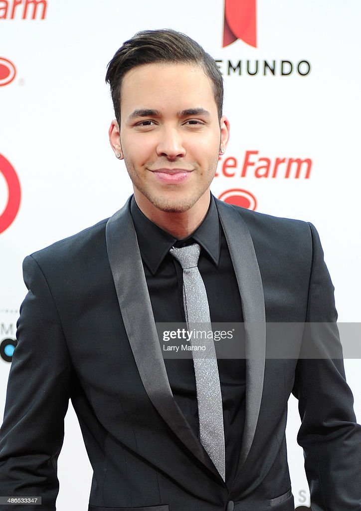 <a gi-track='captionPersonalityLinkClicked' href=/galleries/search?phrase=Prince+Royce&family=editorial&specificpeople=6918529 ng-click='$event.stopPropagation()'>Prince Royce</a> attends the 2014 Billboard Latin Music Awards at Bank United Center on April 24, 2014 in Miami, Florida.
